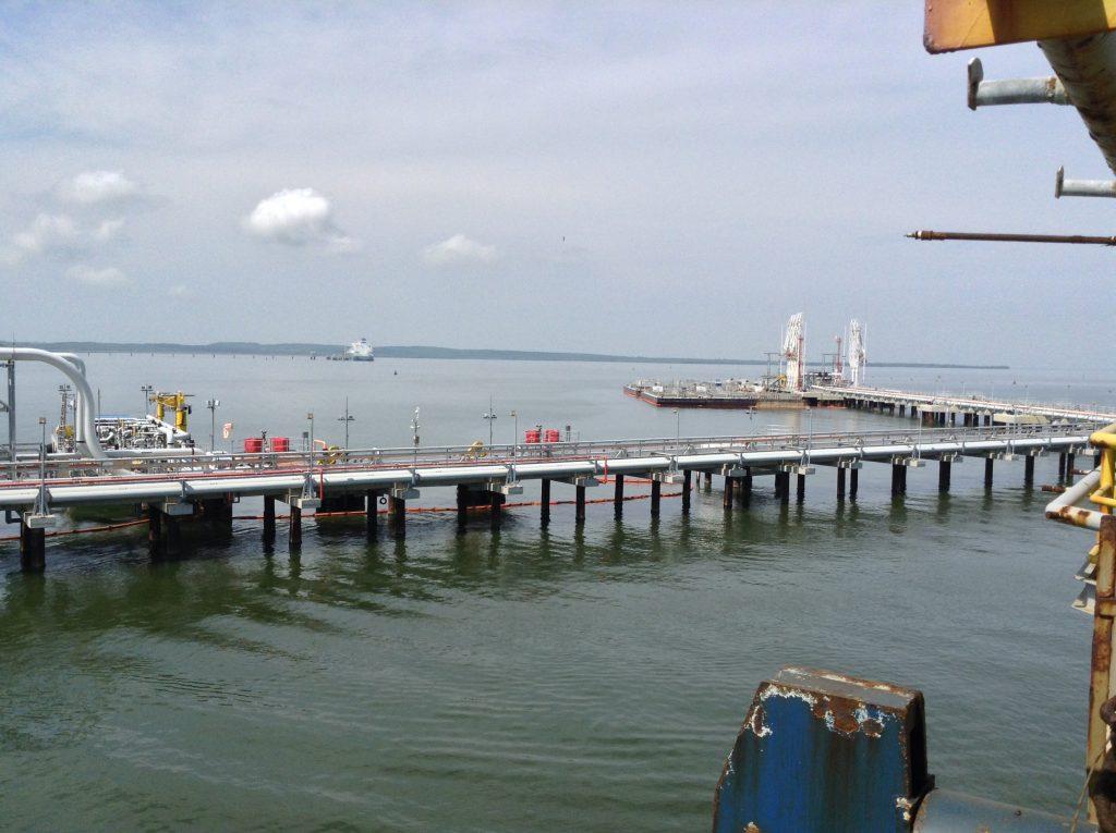 Establecimiento de medidas de mitigación de Gases Efecto Invernadero (GEI) en Terminal Portuario